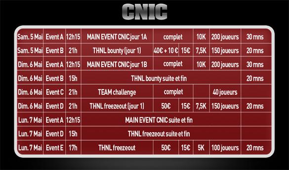 programme tournoi cnic 2012
